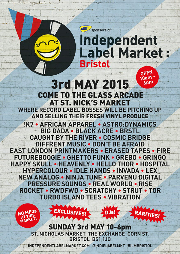 Vibration at Independent Label Market Bristol - May 3rd