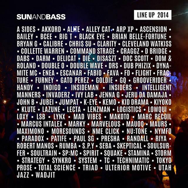 InsideMan at Sun and Bass 2014